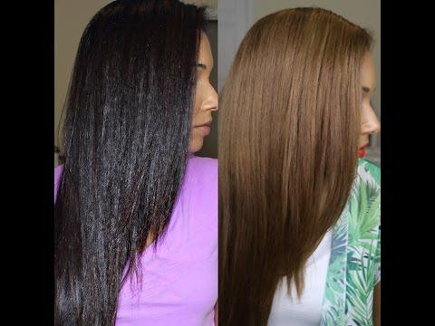 Dark To Light Hair For Summer | L'Oreal Feria | Blue Shampoo