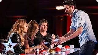 Can Jamie conjure up four yeses? | Audition Week 2 | Britain