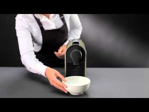 Nespresso U: How To - Descaling (models with serial number below 13142)