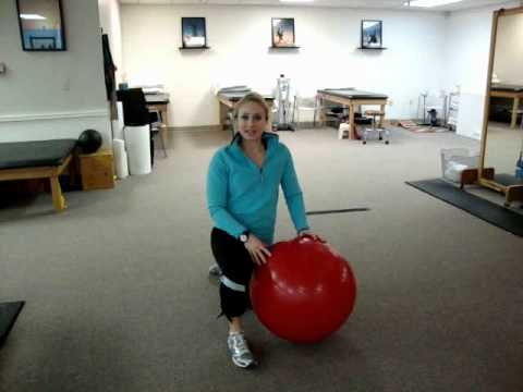 How to Select a Properly Sized Stability Ball.wmv
