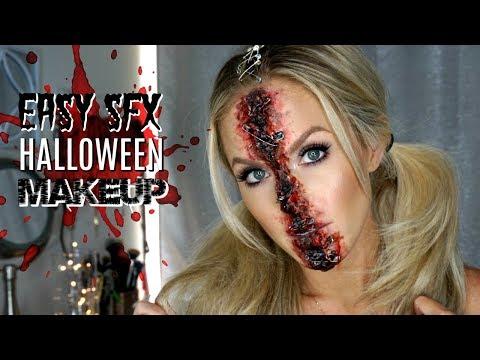 Easy Special Effects Makeup   Halloween Makeup Tutorial