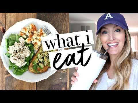 WHAT I EAT IN A DAY PREGNANT   2nd Trimester   Becca Bristow