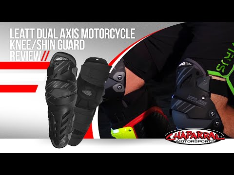 Leatt Dual Axis Motorcycle Knee/Shin Guard Review