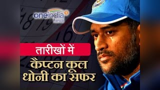 MS Dhoni : Journey of Captain Cool, see records in Pictures | वनइंडिया हिंदी