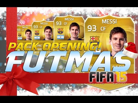 MESSI !!! | FUTMAS PACK OPENING | FIFA 15 ULTIMATE TEAM