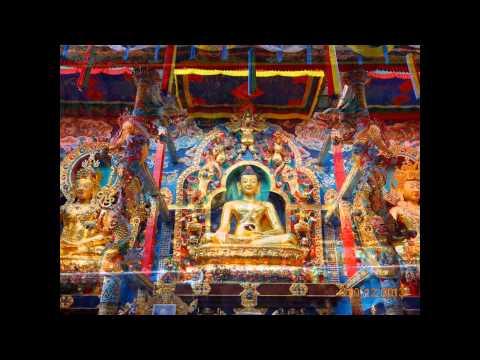 Gold Buddha statue World's longest in India