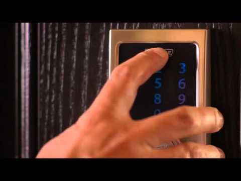 Schlage Touchscreen Deadbolt User Programming