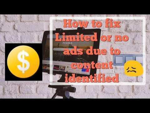 How to fix Limited or no ads due to content identified in Hindi