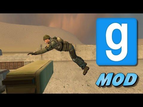 Garry's Mod: Wheatley's Parkour Mod Showcase