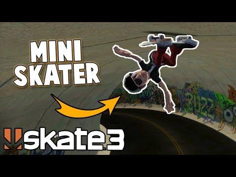 Skate 3: HILARIOUS MINI SKATER CHALLENGE!