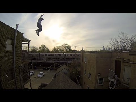 GoPro: Epic Roof Jump