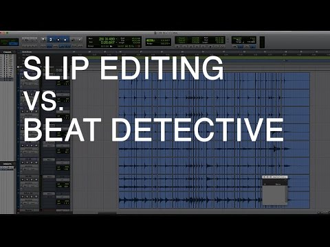 Fastest Way to Edit Drums: Slip Editing vs. Beat Detective for Metal Drums