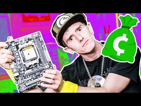 $30 MOTHERBOARD?! – Can it game?