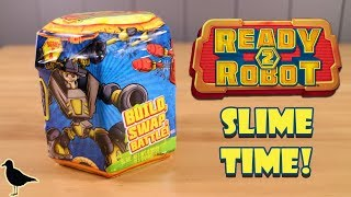 Ready 2 Robot Mystery Toy Opening! Slime! Fun Toy Surprises | Birdpoo Reviews