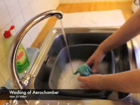 How To Wash an Aerochamber