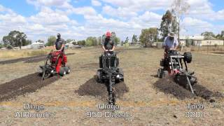 Dingo vs Toro Trenching Challenge