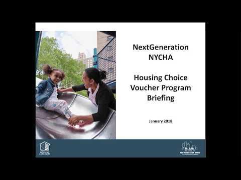 Housing Choice Voucher Program Briefing