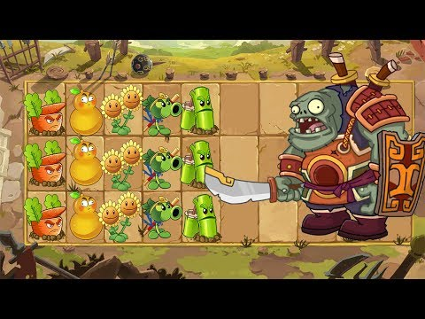 THE FINAL BOSS IN THIS WORLD IS INSANE| Plants Vs Zombies 2 Chinese