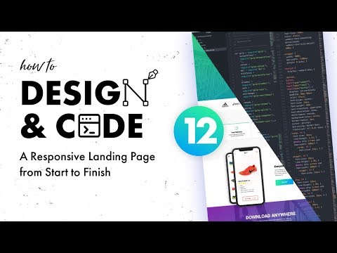 12 - Basic Responsive Web Development | Design & Code Series