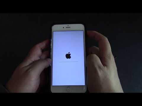 Iphone 6S+ Tutorial 2 - Reset Phone
