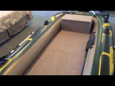 Intex Seahawk 4 Wood Floor/Bench Seat Finished