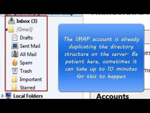 Procedure for Converting a Thunderbird Pop Account to IMAP