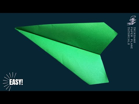 Best Paper Planes - How to make a paper airplane that Flies FAST | Sparrow [HD]