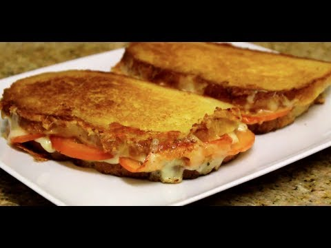 Grilled Cheese & Tomato Sandwich-How to and Recipe | Byron Talbott