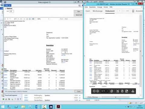 Dynamics AX 2012: Send SSRS Report as Mail