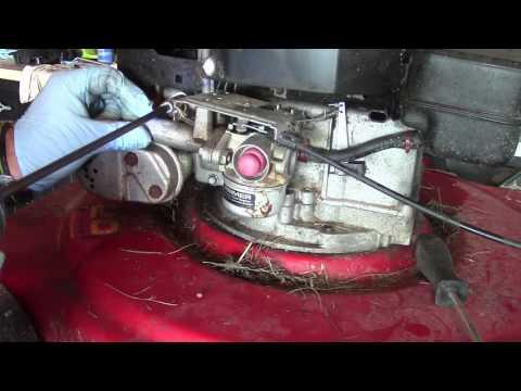 1984 Murray Lawnmower Linkage Problems