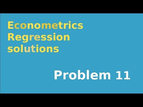 #11  F-test for overall significance in regression example