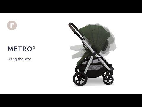 METRO² Pram - using the Seat
