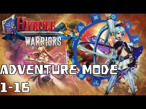 The Gate of Souls - Hyrule Warriors Adventure Map 1-16 Guide