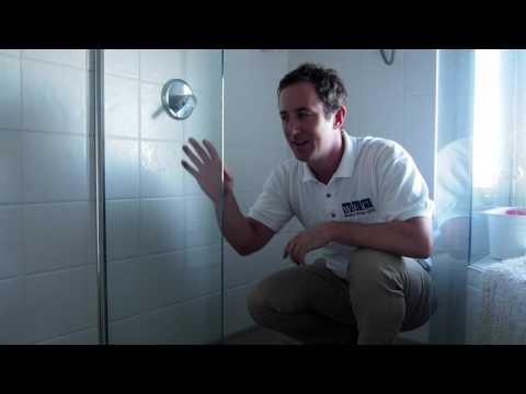 The 1 Min Cleaning Tip - Keeping your shower glass clean