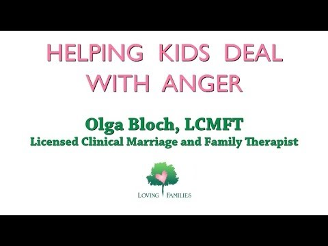 Helping Kids Deal With Anger