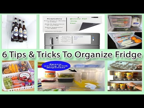 6 Tips And Tricks To Organize Fridge