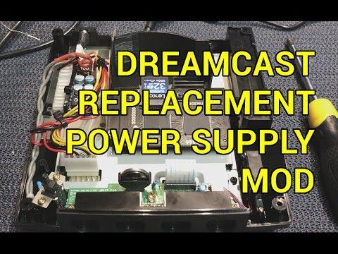Sega Dreamcast DIY Replacement Power Supply PSU Jpn