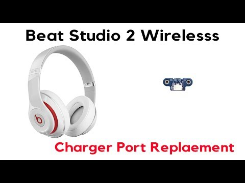 JoesGE.com Beats By Dre Studio 2 Wireless Wired Charging Charge Charger Port IC Repair