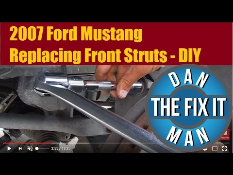 2007 Ford Mustang Front Strut Replacement - DIY