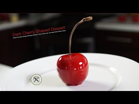 Dark Cherry Shaped Dessert – Bruno Albouze – THE REAL DEAL