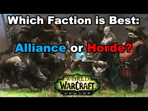 Which WoW Faction is Best: Alliance or Horde?