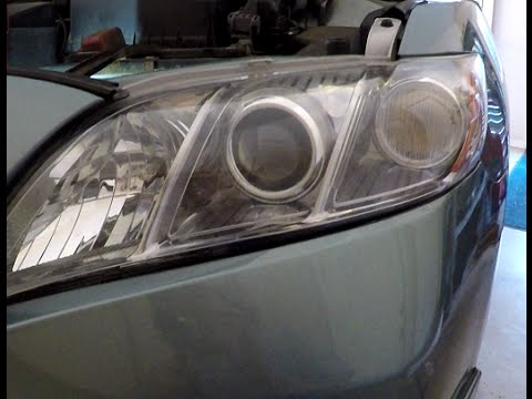 Change Headlight Bulbs in 2007-2011 Toyota Camry