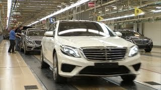 NEW 2014 Mercedes S 63 AMG ► PRODUCTION