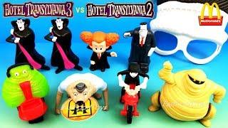 2018 McDONALDS HOTEL TRANSYLVANIA 3 HAPPY MEAL TOYS VS 2015 2 KIDS INCREDIBLES