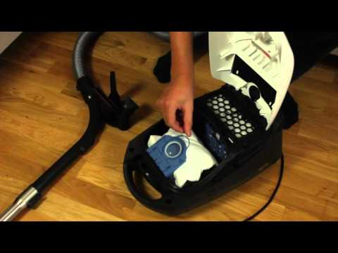 How to change a dustbag in Miele Ecoline Classic C1 vacuum cleaner