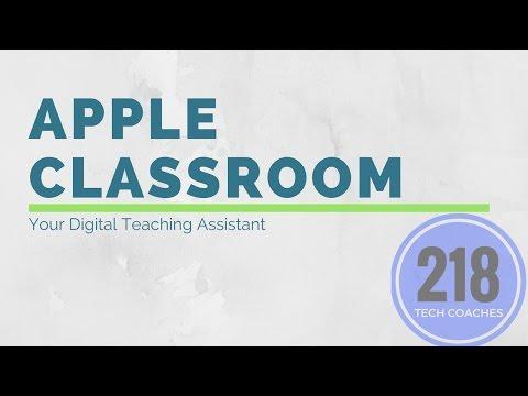 Apple Classroom Walkthrough
