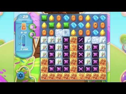 Candy Crush Soda Saga Level 490  No Booster