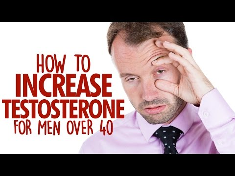 How Men Over 40 Can BOOST Testosterone