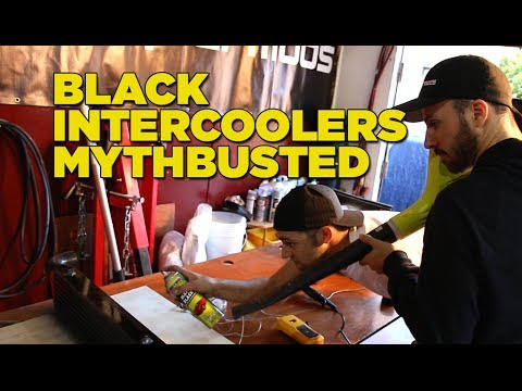 Black Intercoolers Mythbusted