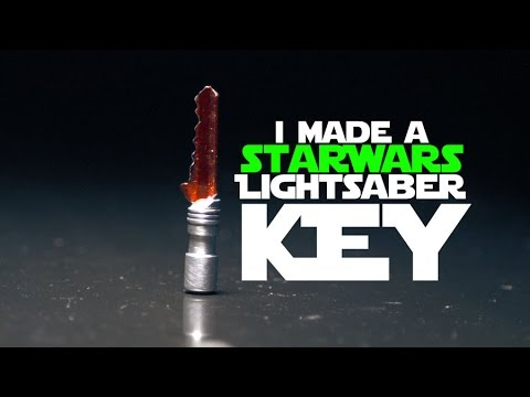 Make a Star Wars Lightsaber Key